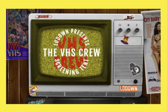 Lodown VHS Crew Screening Tent